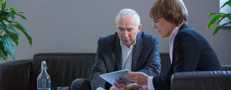 Dr. Wolfgang M. Hipp im Gespräch mit Dr. Petra Hipp